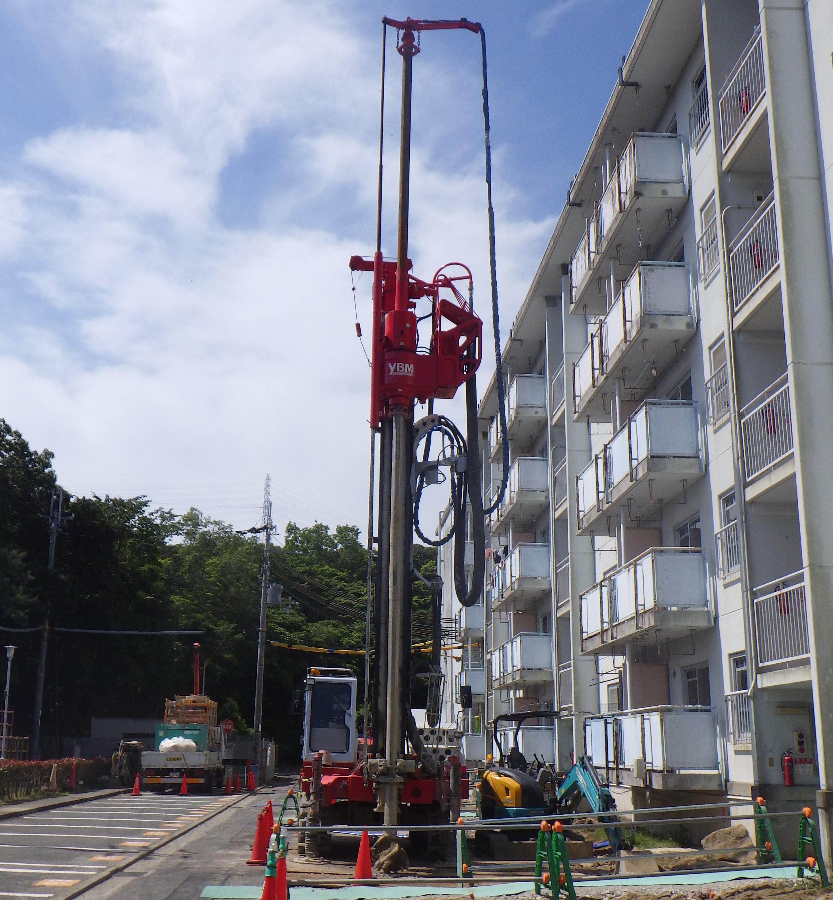 某住宅エレベーター棟増築工事