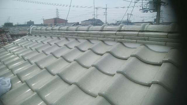 某住宅屋根瓦補修工事